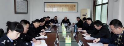 湖南省未成年犯管教所召开政法队伍教育整顿专题民主生活会