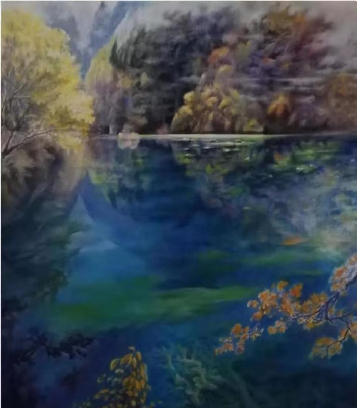 澳洲著名华裔女画家胡涛作品欣赏-中国传真